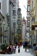 Obere Bachgasse Haidplatz - Historic centre. copy right: Stadt Regensburg, Peter Ferstl