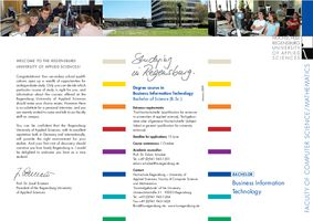 Flyer Business Information Technology (Bachelor)
